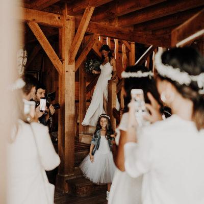 Les préparatifs de la mariées