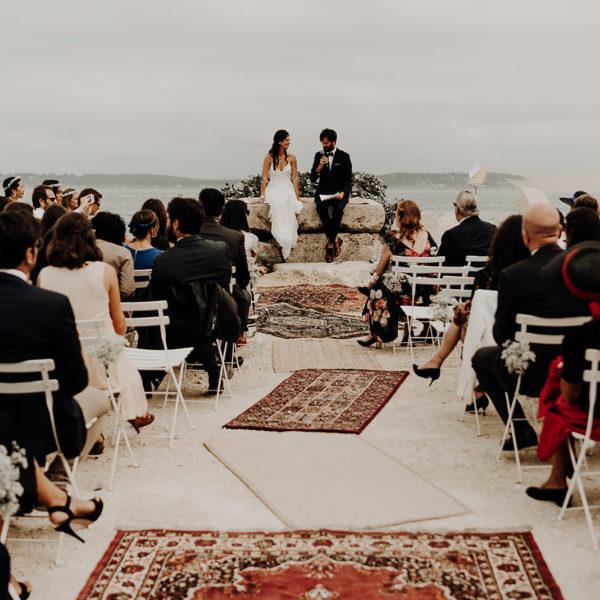 Mariage cabane Bartherotte