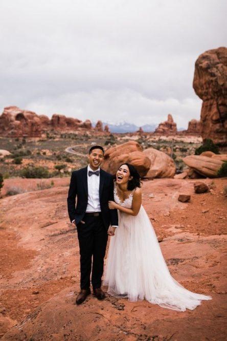 Se marier dans le désert