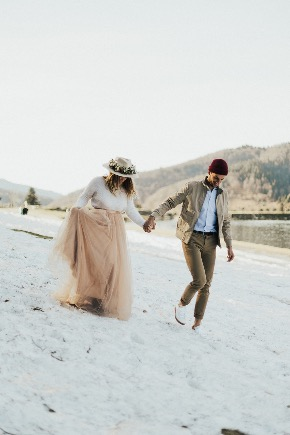 mariage hiver inspiration décoration