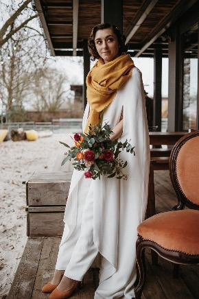 mariée d'hiver mariage bordeaux
