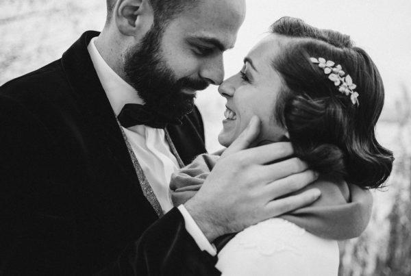 mariage d'hiver de Lise et Antoine