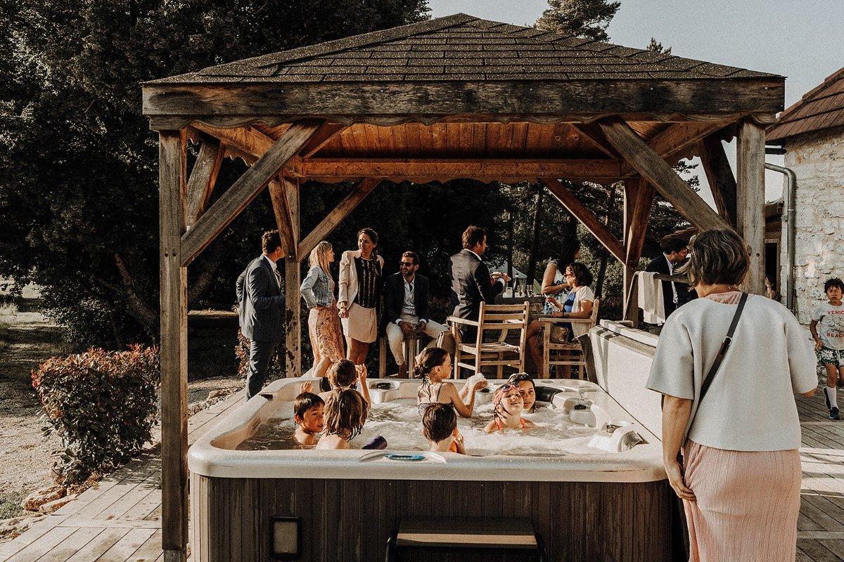 cérémonie mariés partage