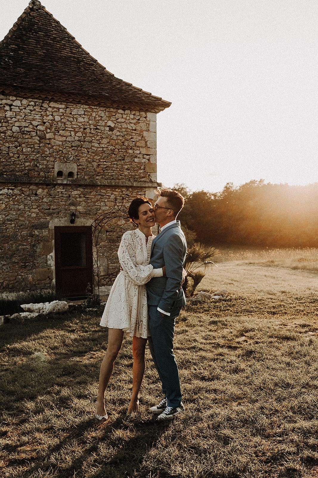 amour mariage coeur mariage au domaine de Lagut