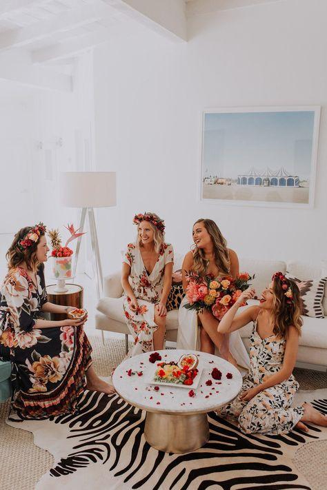 Organiser un EVJF bridal shower