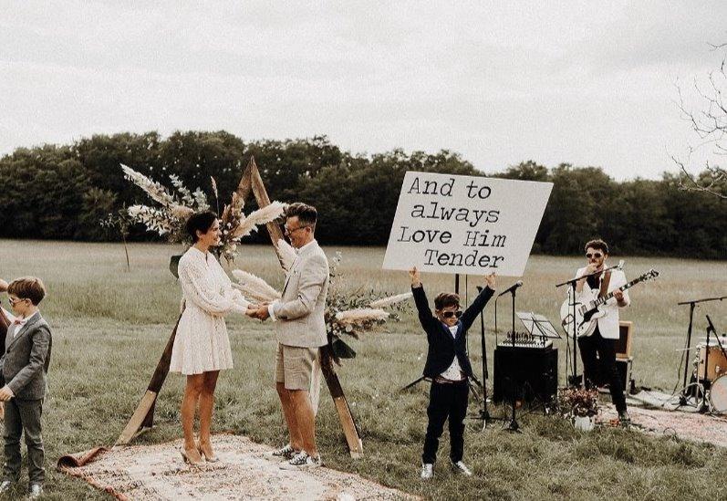 Un mariage plein de style