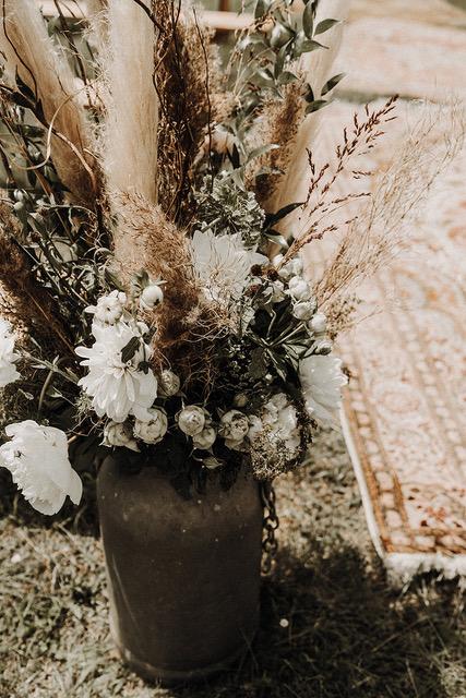 cérémonie mariés partage mariage au domaine de Lagut