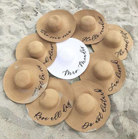 sable et chapeaux; organiser un EVJF inoubliable