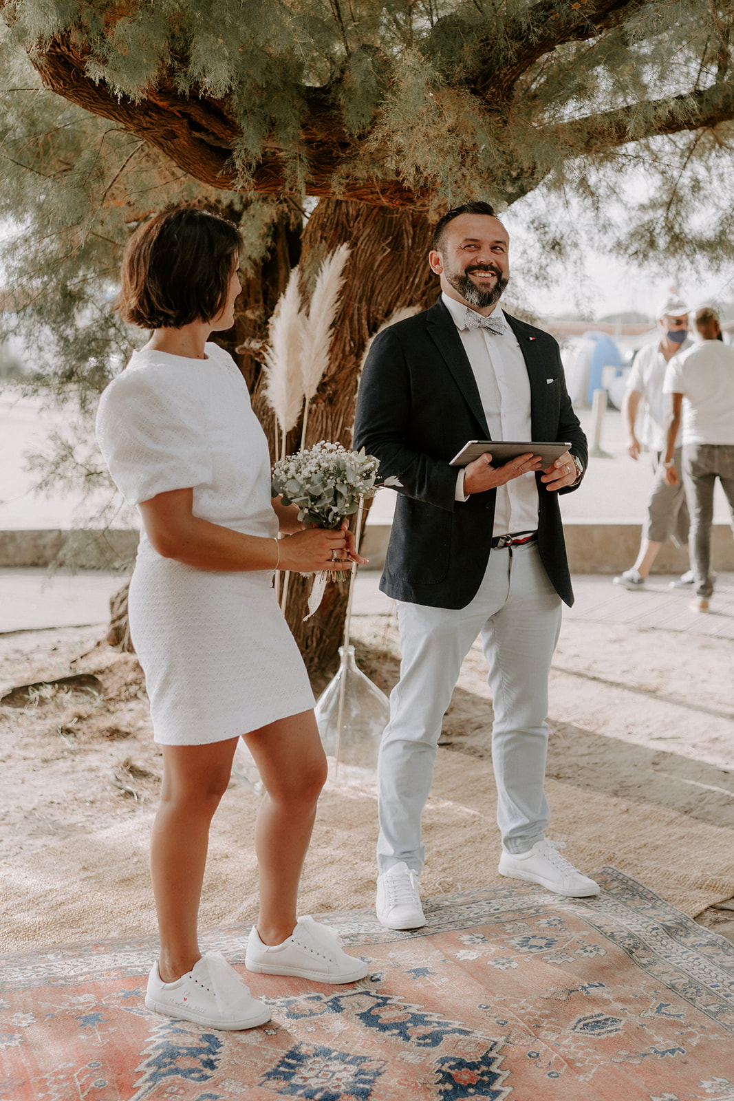 Mariage-CapFerret-ceremonie-couple-alchimie-boheme