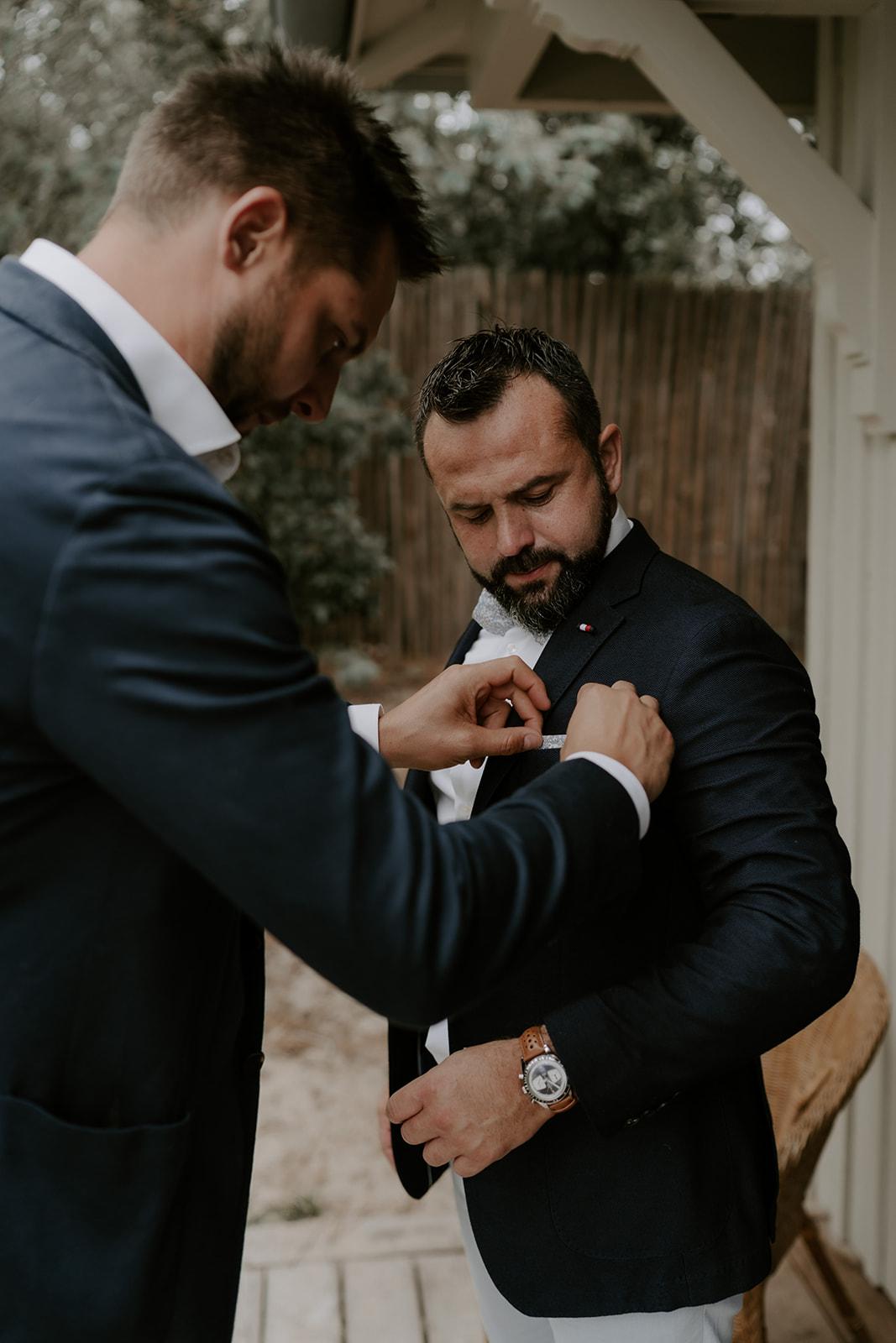 Mariage-bassin-Arcachon-intimiste-preparation-futur-marie-homme