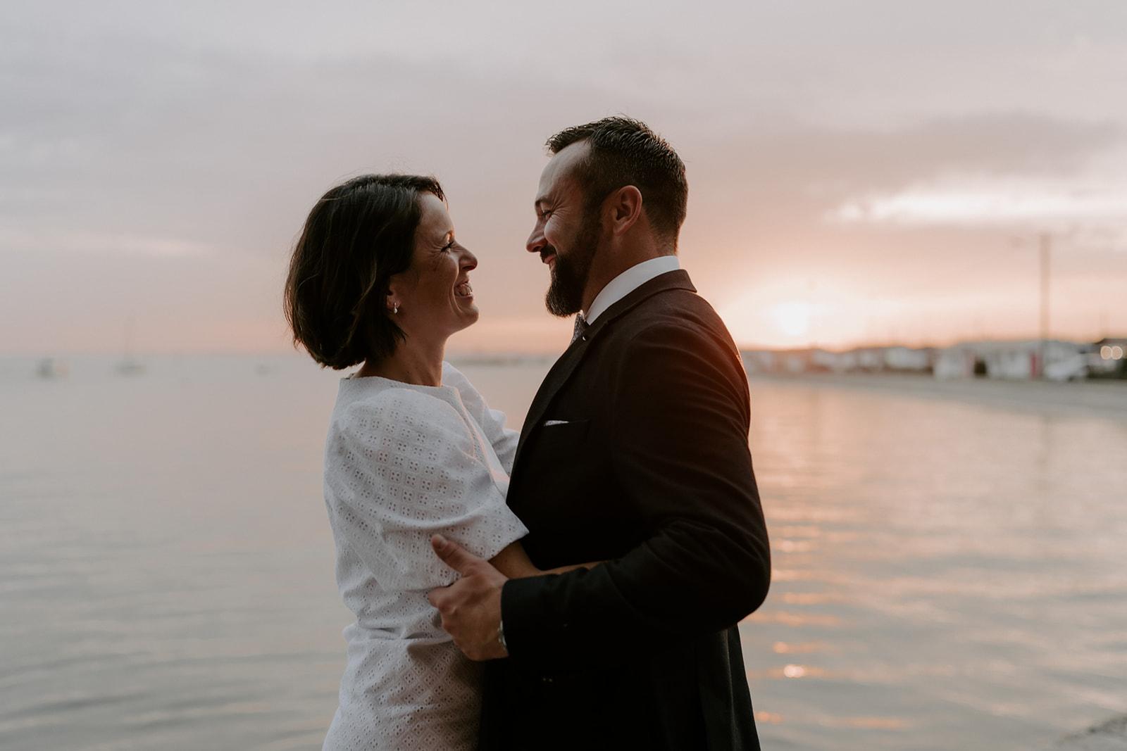 Mariage-CapFerret-soiree-champagne-maries-photo