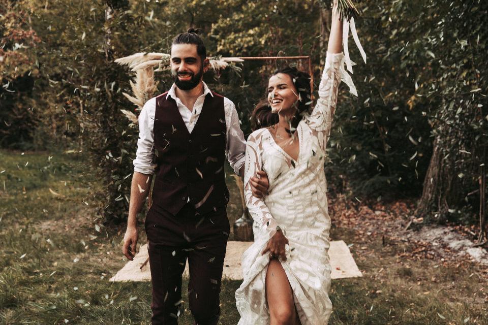 Inspiration mariage BOHO, au domaine de Raba.